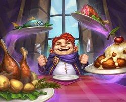 Power Word: Feast Full Art