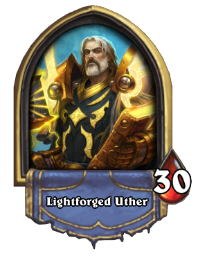 Lightforged Uther Card Image