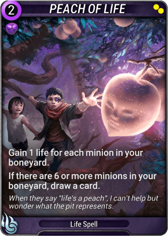 Peach of Life Card Image