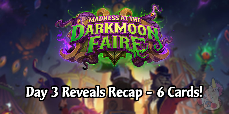 Day 3 of Madness at the Darkmoon Faire Card Reveals - All 6 Cards!