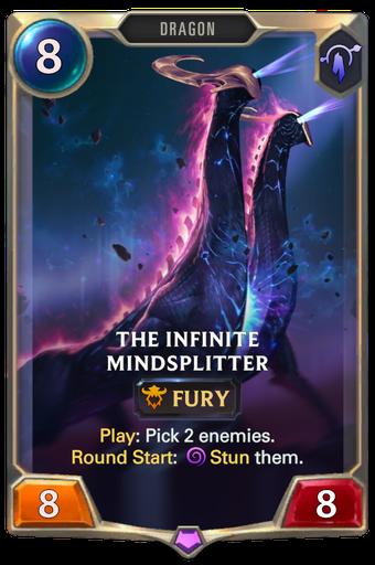The Infinite Mindsplitter Card Image