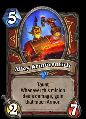 Alley Armorsmith Card Image