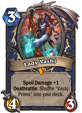 Lady Vashj Card Image