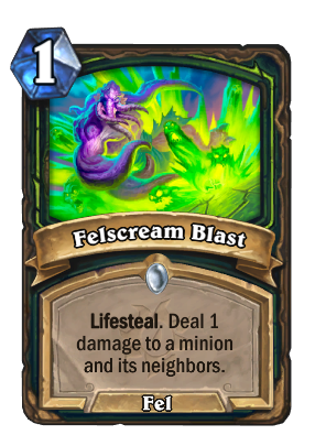 Felscream Blast Card Image