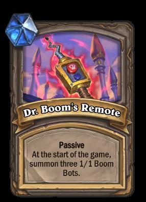 Dr. Boom's Remote Card Image