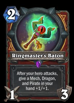 Ringmaster's Baton Card Image