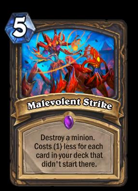 Malevolent Strike Card Image