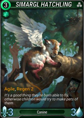 Simargl Hatchling Card Image