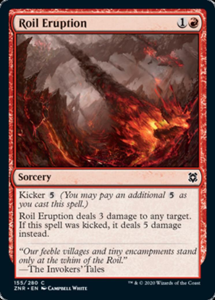 Roil Eruption Card Image
