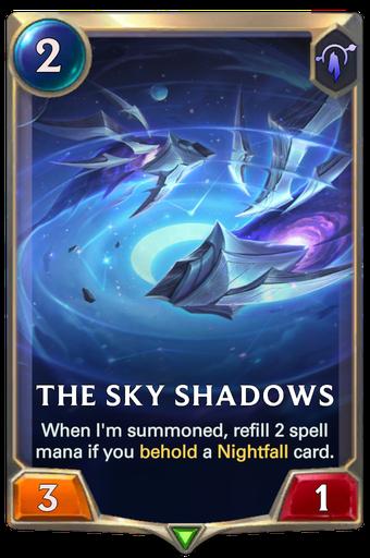 The Sky Shadows Card Image