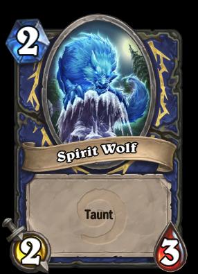 Spirit Wolf Card Image