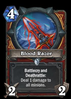 Blood Razor Card Image