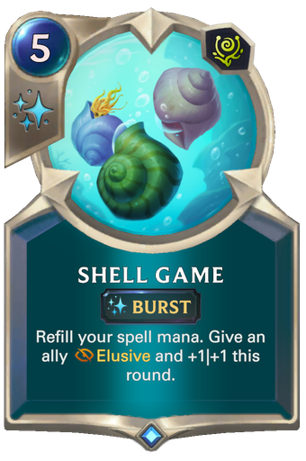 Shell Game Card Image