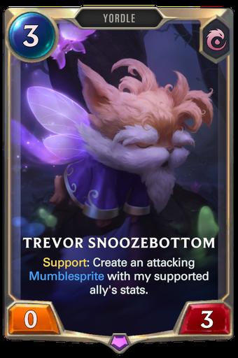 Trevor Snoozebottom Card Image