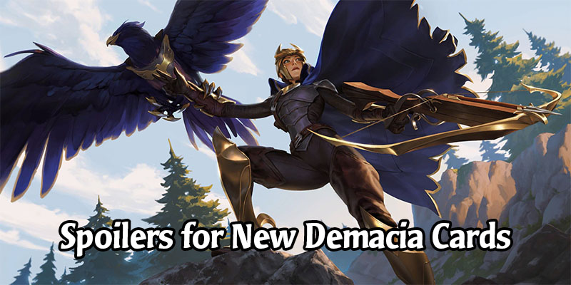 New Legends of Runeterra Champion and Cards Revealed for Demacia