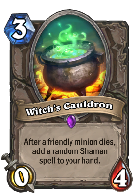 Witch's Cauldron Card Image