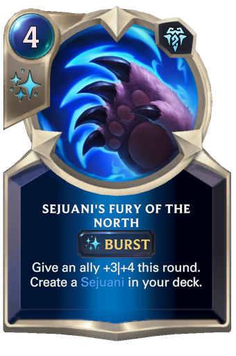 Sejuani's Fury of the North Card Image