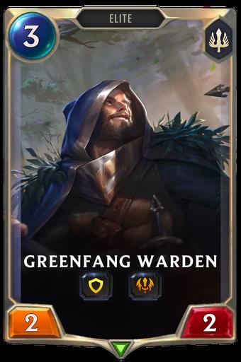 Greenfang Warden Card Image