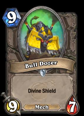 Bull Dozer Card Image