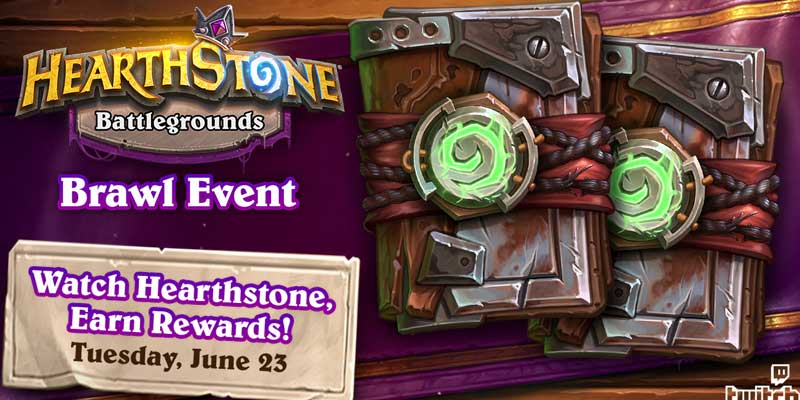 Battlegrounds Brawl: Pirates & Mayhem is Today! Get Free Ashes of Outland Packs for Watching Hearthstone on Twitch