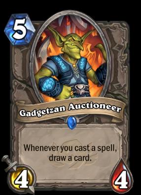 Gadgetzan Auctioneer Card Image