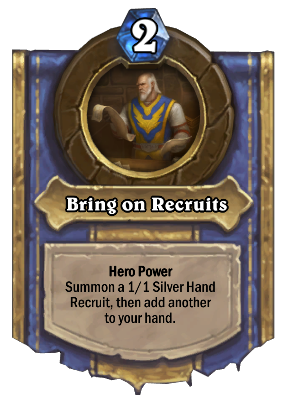 Bring on Recruits Card Image