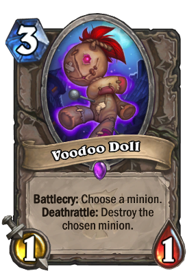 Voodoo Doll Card Image