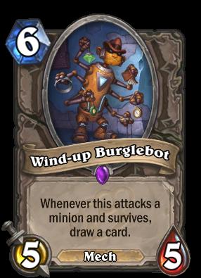 Wind-up Burglebot Card Image