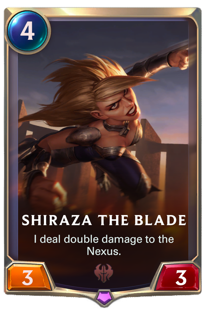 Shiraza the Blade Card Image