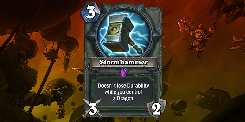 Hunter Weapon Reveal - Stormhammer