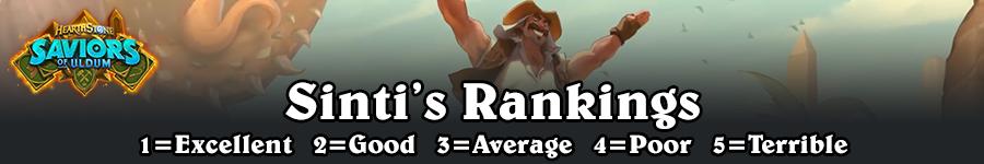 SoU Sinti's Rankings