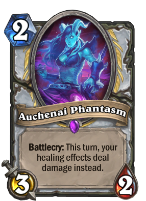 Auchenai Phantasm Card Image