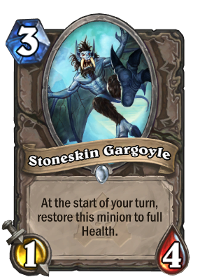 Stoneskin Gargoyle Card Image