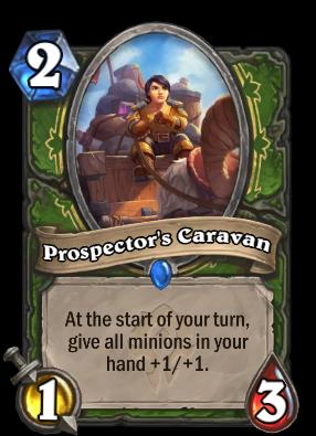 Prospector's Caravan Card Image