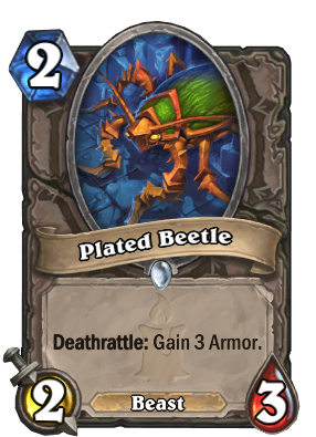 Plated Beetle Card Image