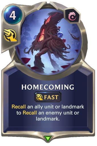 Homecoming Card Image