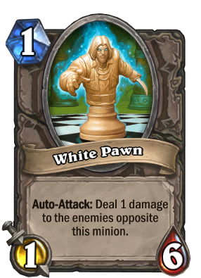 White Pawn Card Image