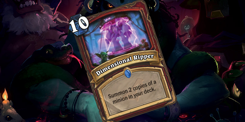 New Rare Warrior Spell - Dimensional Ripper