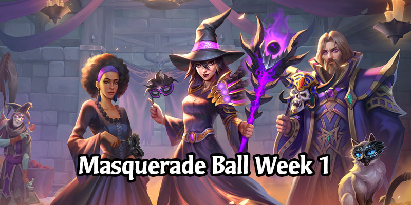 Week 1 of the Masquerade Ball - Elementals in Battlegrounds, Dual-Class Arena, Horseman Uther, & More