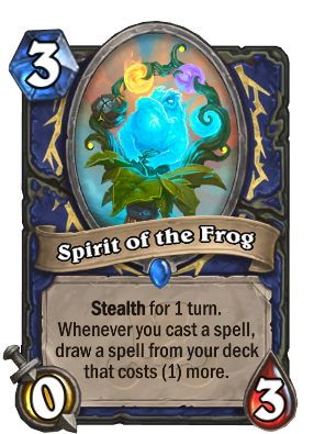 Spirit of the Frog Card Image