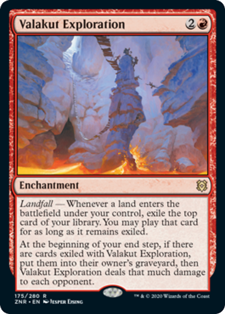 Valakut Exploration Card Image