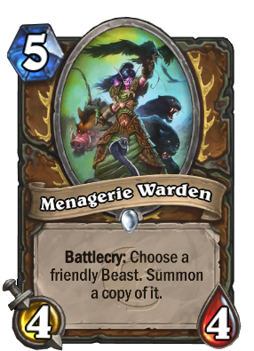 Menagerie Warden Card Image