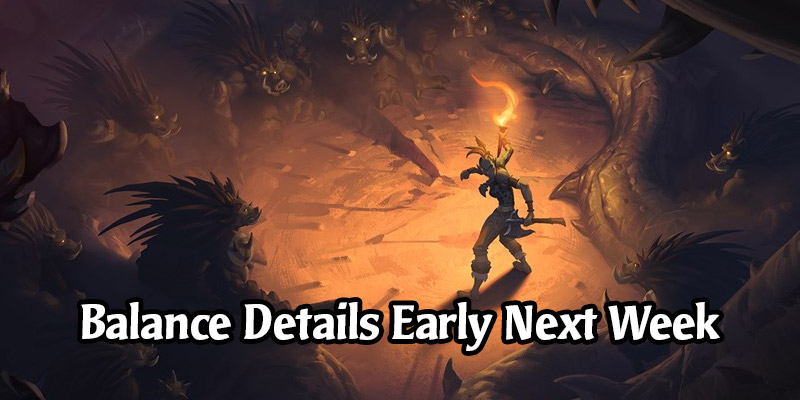 "Hearthstone's First Forged in the Barrens Balance Patch to ""Probably"" be Detailed on Monday or Tuesday"