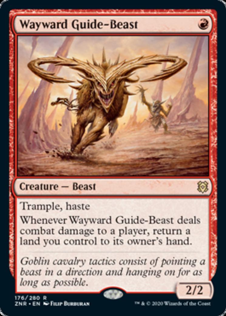 Wayward Guide-Beast Card Image