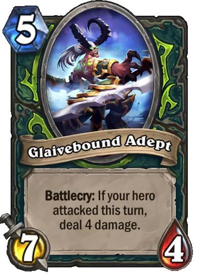 Glaivebound Adept Card Image