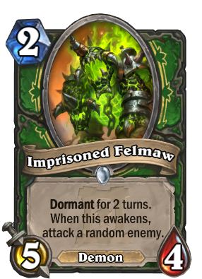 Imprisoned Felmaw Card Image