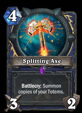 Splitting Axe Card Image