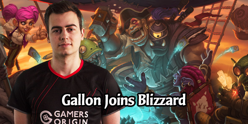Hearthstone Grandmaster Gallon Joins the Final Design Team, Cora Moves Off Battlegrounds to Initial Design