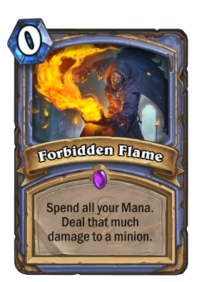 Forbidden Flame Card Image