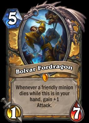 Bolvar Fordragon Card Image